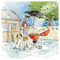 Ling Design - Slice of Life - Birthday Card - Whatever The Weather (BBQ)