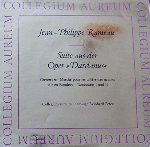 """Jean Philippe Rameau - Suite aus der Oper """" Dardanus """" / HM 17047 / LP / M45 / Schallplatte / Vinyl"""