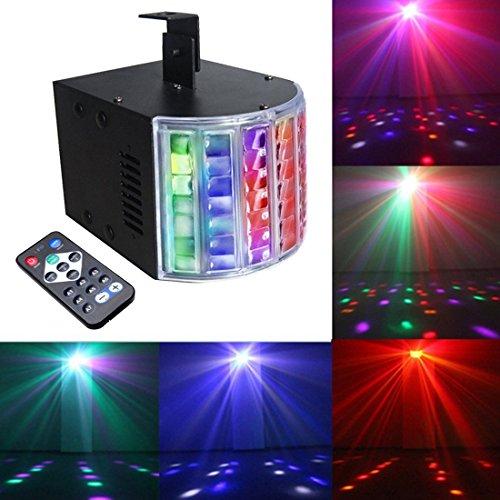 Sbolight Kleine LED-Lichter DJ Disko Party für Bühnenbeleuchtung mit Fernbedienung (Decke-wand-combo)