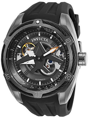 Invicta Herren Analog Automatik Uhr mit Silikon Armband 28162 - Watch Silikon Invicta Bands