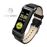 TianranRT KR03 Herz Rate Monitor Aufzug Hand Hell Bildschirm Intelligent Armband (Schwarz)