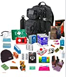 Bug Out Bag (Black) One Person 72hr Emergency Kit,Essential for this day and age