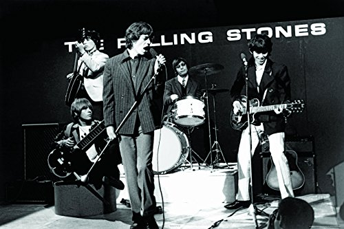 Maxi poster, motivo: The Rolling Stones, Ready Steady Go, dimensioni: 91,5 x 61 cm