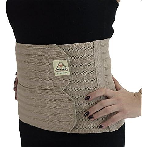 ita-med ab-309grande (W), color beige mujer Apoyo post-partum abdominal Carpeta de anillas con elástico