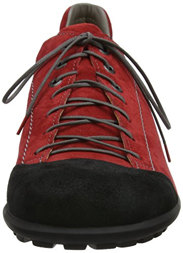 Think! Kong_282659, Brogues Homme Rouge (Rosso/kombi 72)