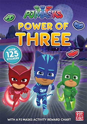 Power of Three: A PJ Masks Sticker Book