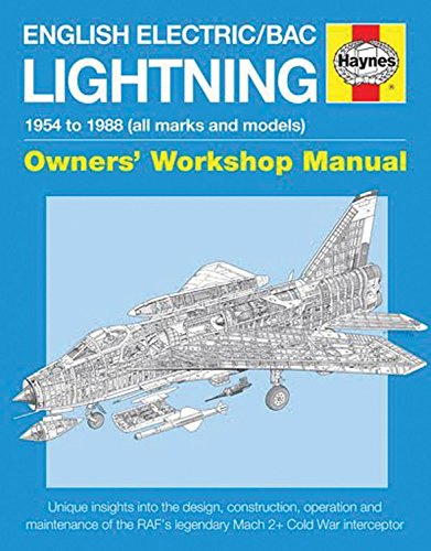 English Electric/BAC Lightning Manual Cover Image