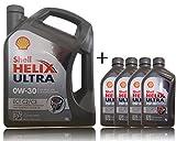 1x5+4x1 Liter Shell Helix Ultra ECT C2 / C3 0W-30 Motoröl, 5 Liter