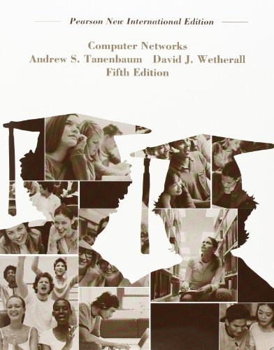 Computer Networks by Tanenbaum, Andrew S, Wetherall, David J. (2013) Paperback