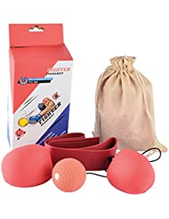 Fight Ball Reflex, Foxom Head Speed Ball Punching Pour Gym, Boxe, Kickboxing, MMA et autres combat sports