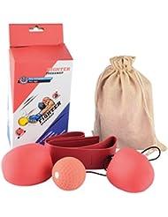 Punchingball, iTECHOR Pro Boxbirne Drehwirbel SpeedBal ball box-Trainer Boxen Punchingball Set