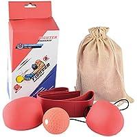 Speedball Boxen, Likeluk Punching Punchingball Boxen set Boxsack-Set für Kinder Jugend Erwachsene Stress HausTraining