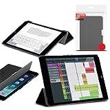 Orzly® - Apple iPad MINI SlimRim Tablet Case CUSTODIA con SUPPORTO integrato in NERO ( Alias: Orzly SlimRim Smart Stand Case ) - ULTRA SLIM PropUp Stand Case COPERTURA con SONNO-SENSORI INTEGRATI e coperchio magnetico. Adatto Apple iPad Mini ( TUTTI I MODELLI incluso: 2012 Originale versione + 2013 versioni con Retina Display & WiFi )