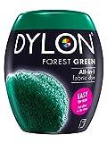 Dylon Teinture textile pour machine à laver, vert forêt, 8.5 x 8.5 x 9.9 cm