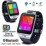 Indigi® 2-in-1GSM sbloccato Orologio Bluetooth sincronizzazione per Galaxy S6EDGE NOTE 4* 6iPhone 6Plus - Best Reviews Guide