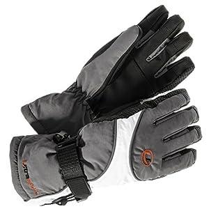 Ultrasport Advanced Damen Funktions-Ski-/Snowboard-Handschuhe, mit Thinsulate Insulation, Ultraflow 10.000, wasser- und winddicht, atmungsaktiv, rutschfeste Handinnenflächen, weitenverstellbar