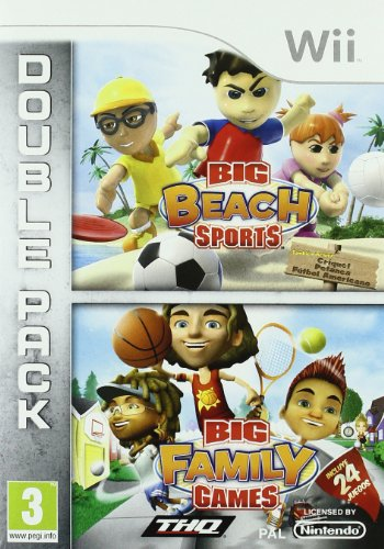 Big Beach Sports & Big Family Games -Double Pack- [Spanisch Import] (Wii-big Beach Sports)