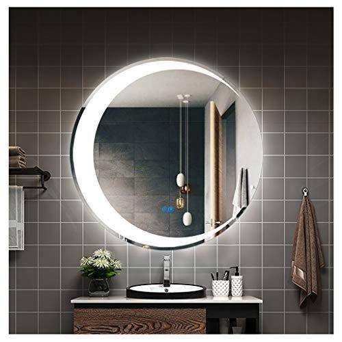 Snow Yang Von hinten beleuchteter LED-an der Wand befestigter beleuchteter Spiegel / Eitelkeits-Badezimmer zerlegter Spiegel mit Anti-Fog für kosmetisches Eitelkeits-Make-up oder Rasieren -