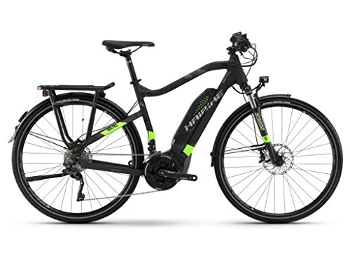 Haibike E-Bike SDURO Trekking 6.0 Herren 500Wh 20-G XT 18 HB YWC Black/Green/Titanium Large