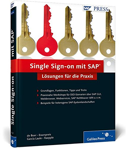 Single Sign-on mit SAP: Lösungen für die Praxis (SAP PRESS)