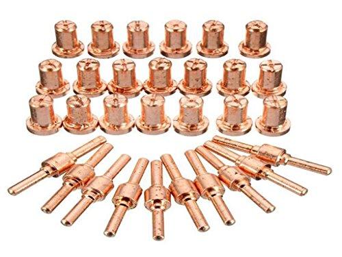 Luft-Plasma-Schneiden Cutter Verbrauchsmaterial Erweiterte für PT-31 LG 40 Torch Cut-50D 60pcs - 4