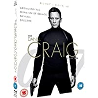 James Bond The Daniel Craig Collection 4-Pack (Bluray)