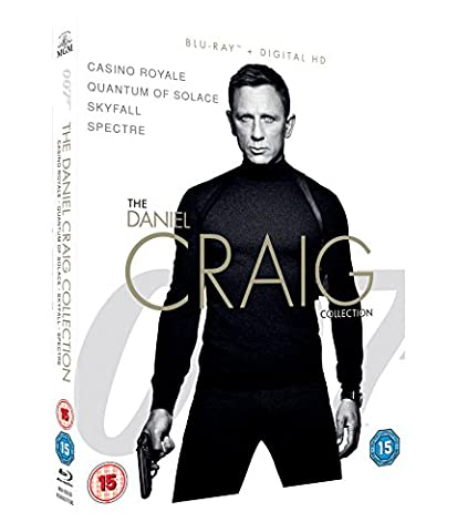 Spectre Blu-ray - Daniel Craig Collection (4 Blu-Ray) [Edizione: Regno