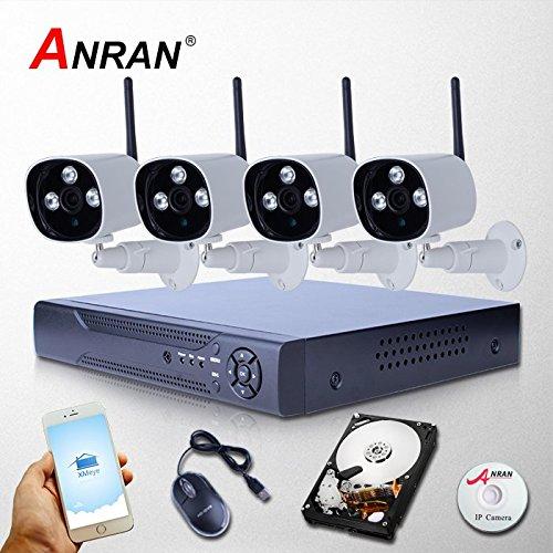 ARBUYSHOP New Arrivals 8CH NVR 2TB HDD 1080P drahtlose Videoüberwachung IP-Kamera WIFI CCTV-System für Home Infrarot-Sicherheits-Überwachung Cctv-systeme