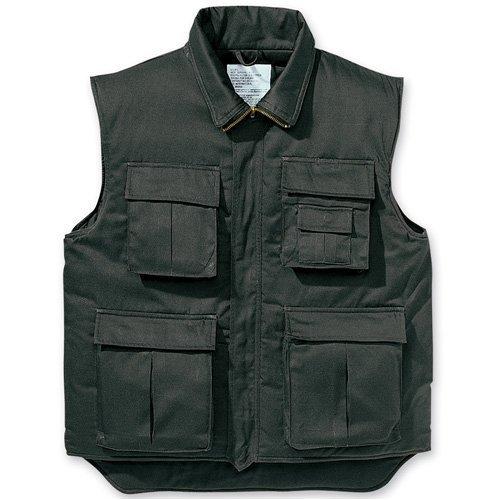 US Ranger-Weste (schwarz) XXL Ranger Weste