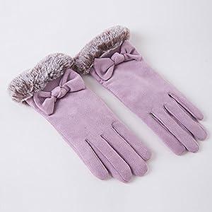 Unbekannt XIAOYAN Handschuhe Damen Handschuhe Handgelenk Länge Fingerspitzen Niedlich/Party/Lässig Wintermode Warme Handschuhe Bequem