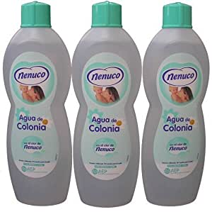 3 Nenuco Baby Cologne/agua De Colonia 20oz./600ml by Reckitt Benckiser