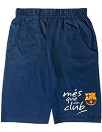 FC Barcelone - Short enfant FC Barcelone club bleu - 4 ans,6 ans,8 ans,10 ans,12 ans,14 ans