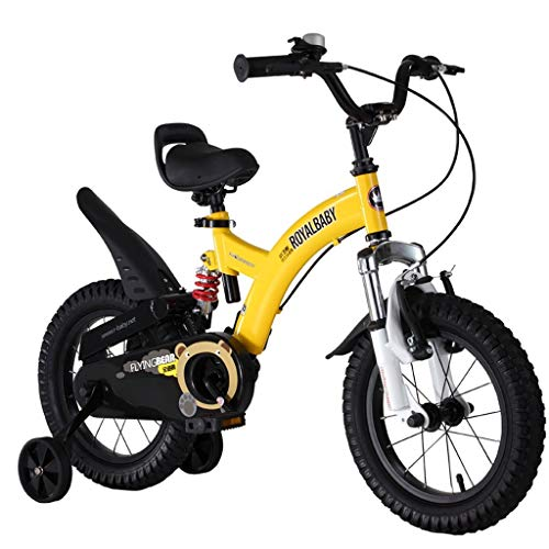 cles, 5-8 Years Old Boys and Girls Bikes, 16 Inches, for Height 105-150cm ()