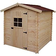 Casette in legno da giardino for Casette di legno obi