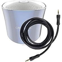 DURAGADGET Cable De Audio Para Altavoz Portátil Aukey SK-M8 / TaoTronics TT-SK06Es / Tronsmart-T1 / YOZATIA / Anker A3143011 - Entrada de 3.5mm Y Bañado En Oro
