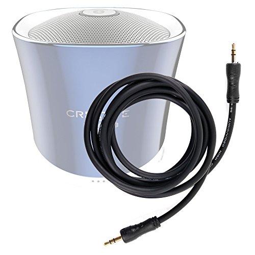DURAGADGET Cable De Audio Para Altavoz Creative iRoar / iRoar Go / Muvo 2 / 2c / Nuno / micro / Sound Blaster Roar 2 / Roar Pro / Woof 3 - Entrada de 3.5mm