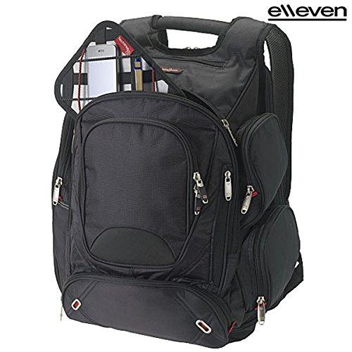"""Zaino Portacomputer 17"""" Proton Elleven Zainetto Porta Notebook da Viaggio"""