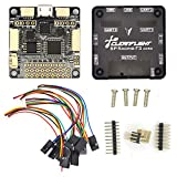 LHI Pro Racing F3 Flight Controller Board Cleaflight 10DOF Deluxe with Brano and Compass for Mini FPV Racing QAV250 ZMR250 QAV280 QAV180 QAV210 Mini Quadcopter Better Than Naze Flip32 RV5 10DOF