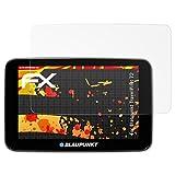 atFoliX Folie für Blaupunkt TravelPilot 72 Displayschutzfolie - 3 x FX-Antireflex-HD hochauflösende entspiegelnde Schutzfolie