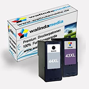 Lexmark 44 & 43 XL cartouches pour Lexmark: X4850 / X4875 / X4950 / X4975 / X4975VE / X6570 / X6575 / X7550 / X7675 / X9300 / X9350 / X9570 / X9575 / Z1520