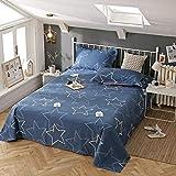 LIAIHONG Weiche hautfreundliche atmungsaktive Baumwolle Bettwäsche Twill Cartoon Einzelbettwäsche Stil 7 160 * 230cm