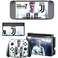 CIVIQ Nintend Switch Vinyl Skins Sticker For Nintendo Switch Console and Controller Skin Set - Juventus
