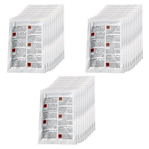 spares2go Entkalker/Entfetter für Geschirrspüler & Waschmaschine (30Stück x 50g) -