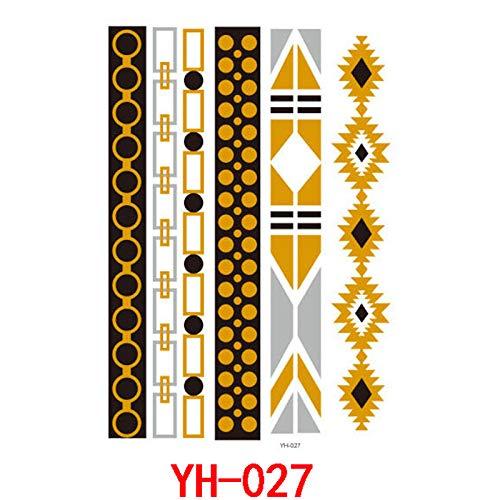 adgkitb Europäische und amerikanische Tattoo Aufkleber YH-027 14.8x21cm