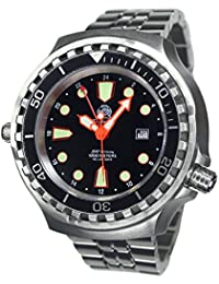Tauchmeister Automatic GMT Big size diver watch - sapphire glass T0278-M