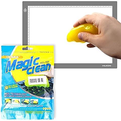 DURAGADGET Potente Gel Limpiador Para Tableta Gráfica / Caja de luz Huion L4S | LB4 | A4