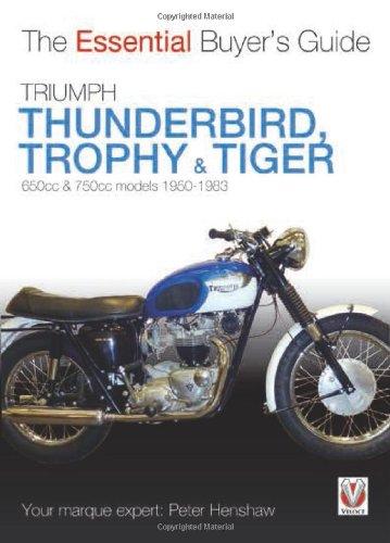 Triumph Trophy & Tiger Cover Image