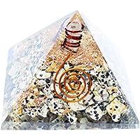Humunize Dalmation Stein mit Bleistift Orgon Pyramide Chakra-Energie-Generator Reiki Stein Fen Shui Geschenk preisvergleich bei billige-tabletten.eu