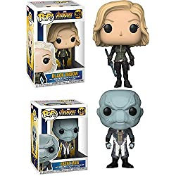 Funko POP! Marvel Avengers Infinity War: Black Widow + Ebony Maw