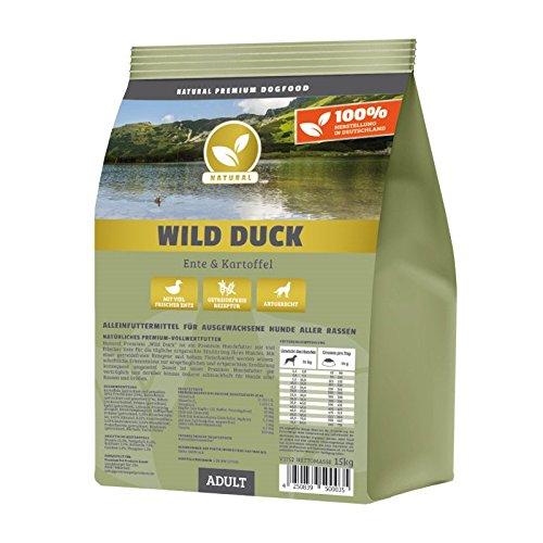 Hundeland Natural | Wild Duck | 15 kg | Ente + Kartoffel...